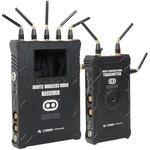 CINEGEARS Ghost-Eye Wireless HD SDI Video Transmission Kit 800T.Code (V-Mount)