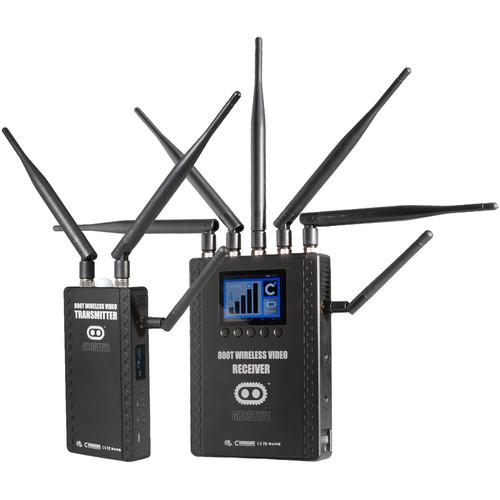 CINEGEARS Ghost-Eye Wireless HDMI & SDI Video Transmission Kit 800T (Gold Mount)