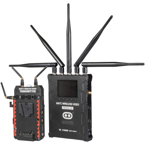 CINEGEARS Ghost-Eye Wireless 800TC Video Transmission Kit (V-Mount)