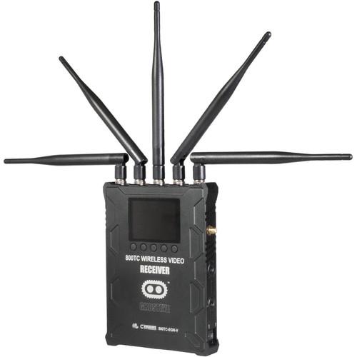 CINEGEARS 800TC ENG Ghost-Eye Wireless HD Video Receiver (Gold Mount)