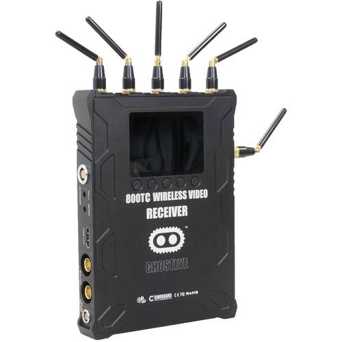 CINEGEARS 800TC ENG Ghost-Eye Wireless HD Video Receiver (V-Mount, Encrypted)