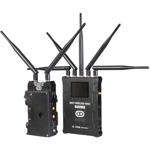 CINEGEARS Ghost-Eye Wireless 800TC Video Transmission Kit (Gold Mount, Encrypted)
