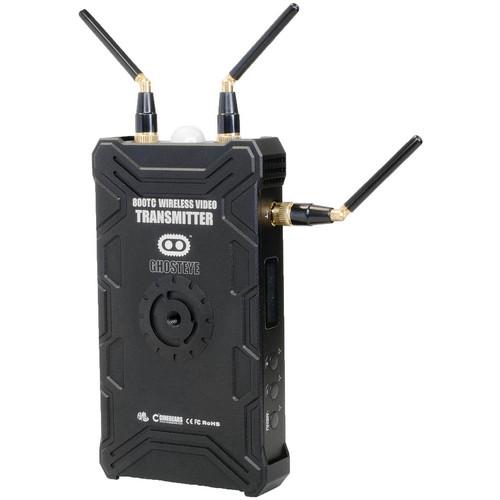 CINEGEARS Ghost-Eye Wireless 800TC ENG Video Transmitter (Gold Mount , Encrypted)