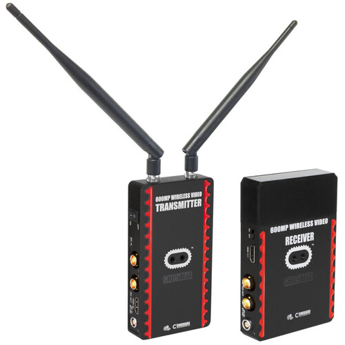 CINEGEARS Ghost-Eye Wireless 600MP HDMI/SDI Video Transmission System V3 (V-Mount)