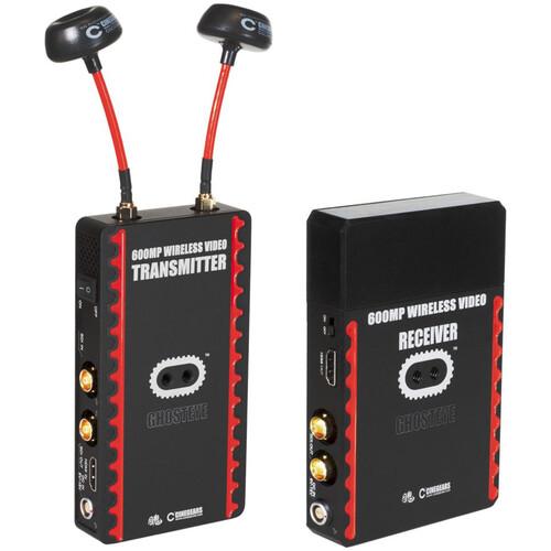 CINEGEARS Ghost-Eye Wireless 600MP HDMI/SDI Video Transmission System V3 (V-Mount, Encrypted)