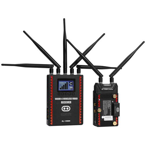 CINEGEARS Ghost-Eye Wireless HDMI & SDI Video Transmission Kit 1000M V3 (Gold Mount, Encrypted)