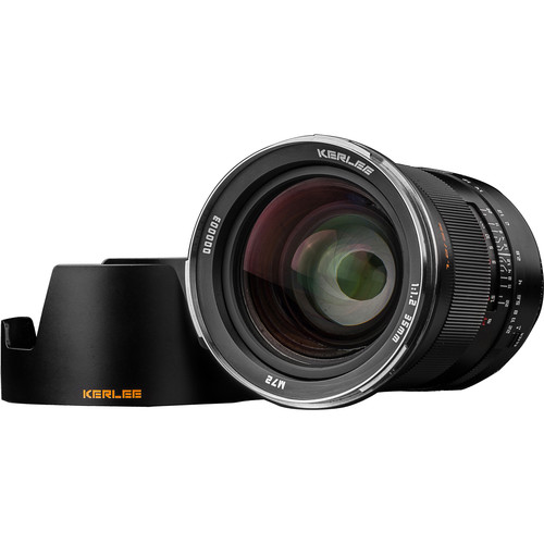 Shenzhen Dongzheng Optics Tech Kerlee 35mm F1.2 Lens (Nikon F Mount)