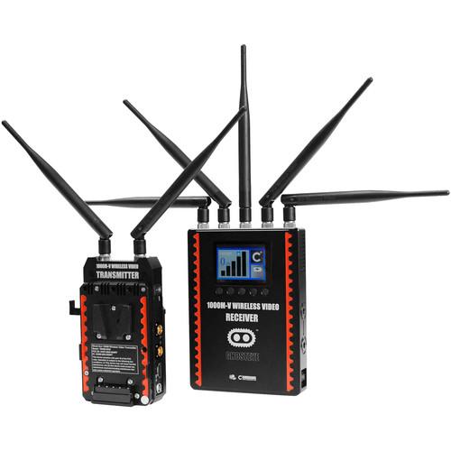 CINEGEARS Ghost-Eye Wireless HDMI & SDI Video Transmission Kit 1000M ENG (V-Mount)