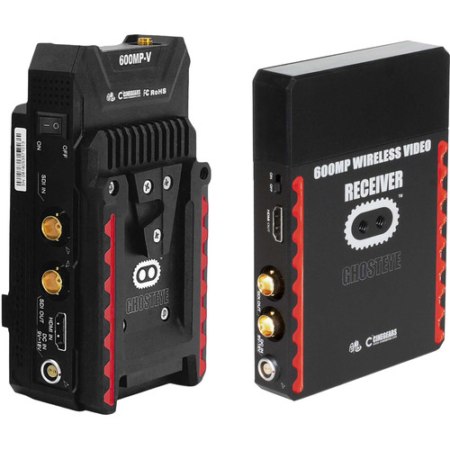 CINEGEARS Ghost-Eye 600MP Wireless Transmitter and Receiver Kit (V-Mount/L-Series)