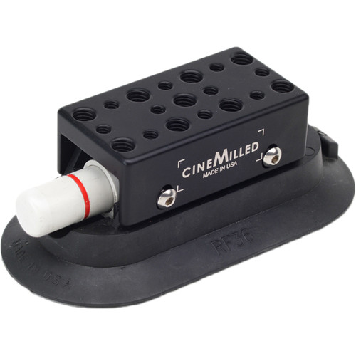 """CineMilled Rectangle Rigging Suction Cup (3 x 6"""")"""