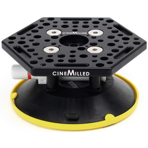 """CineMilled 6"""" Rigging Suction Cup"""