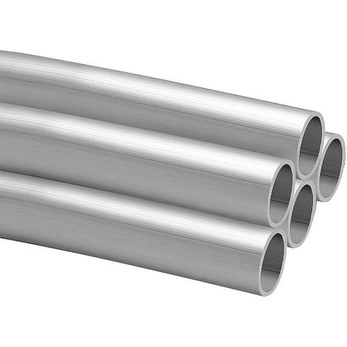 """CineMilled Bare Aluminum Speedrail with 1.25"""" Diameter (6"""")"""