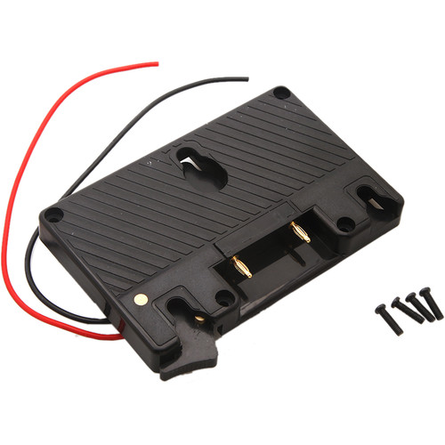 CineMilled Standard Battery Plate Gold Mount