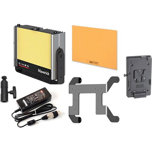 Cineo Lighting Maverick LED Light Bi-Color Portable V-Lock Kit