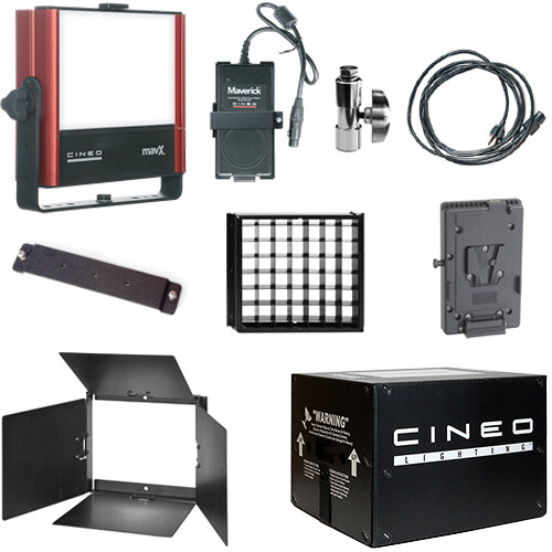 Cineo Lighting MavX Travel Kit (V-Lock)