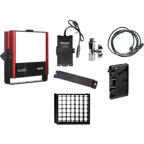 Cineo Lighting Mavx A/B Goldmount Travel Kit