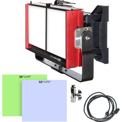 Cineo Lighting HS2 Wave Bluescreen / Greenscreen Integrated Kit