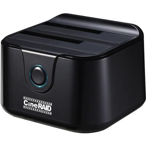 CineRAID CR-H238 USB 3.1 Gen 2 Type-C Dual-Bay Drive Dock and Duplicator