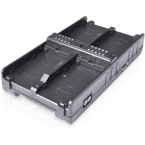 Cineroid 4in1-SLVB 4-in-1 V-Mount Battery Hub for Sony NPF L Battery Type