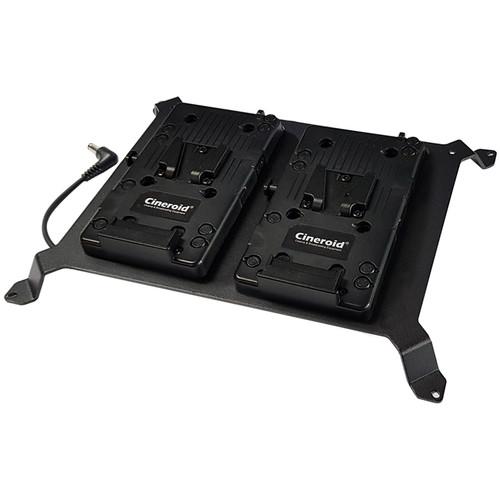 Cineroid Dual V-Mount Battery Plate for LM800 LED Panel