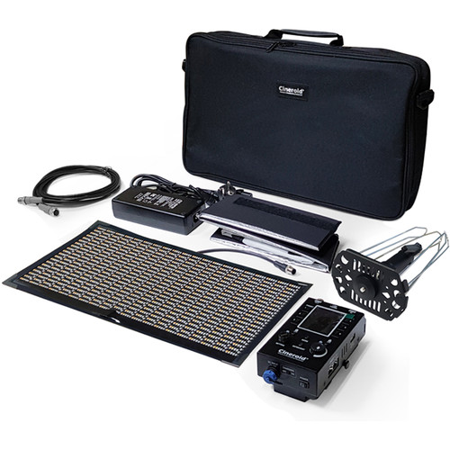 Cineroid CFL800V RGBW Single Panel Set with V-Mount Battery Plate