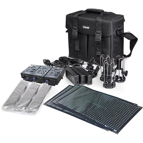 Cineroid FL800 Flexible LED 3-Set Kit (V-Mount)
