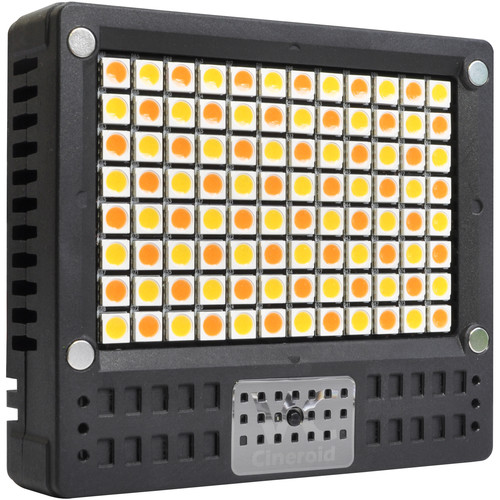Cineroid L10C-VCE 18 Watt On-Camera Variable Color Temperature LED Light