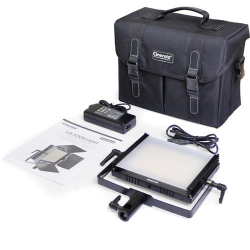 Cineroid LM400-VCBB Bi-Color LED Light Basic Set