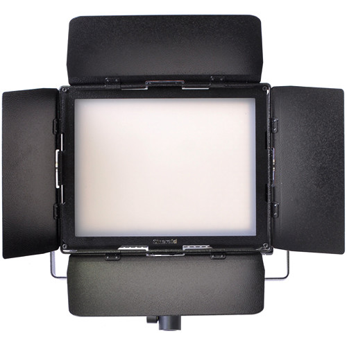 Cineroid LM800-VCD Bi-Color LED Location Light with Gold Mount Battery Plate
