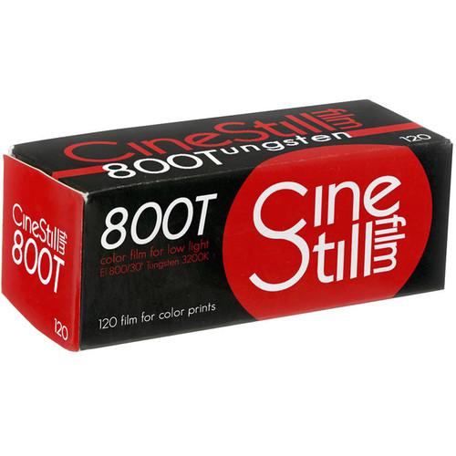 Cinestill 800Tungsten Xpro C-41 Color Negative Film (120 Roll Film)