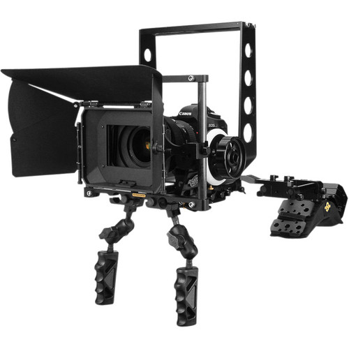 Cinevate Inc DSLR Deluxe Package with Shoulder Mount v3