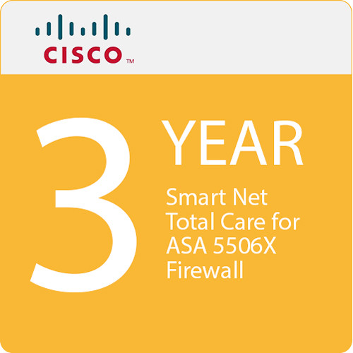 Cisco Smart Net Total Care for ASA 5506X Firewall (3 Year Service)