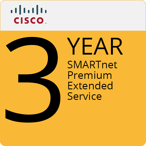 Cisco SMARTnet Premium - 3 Year Extended Service