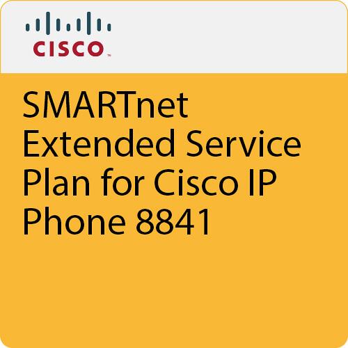 Cisco SMARTnet Extended Service Plan for Cisco IP Phone 8841