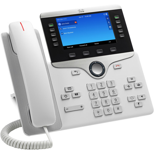 Cisco 8851 Wall Mountable IP Phone - White