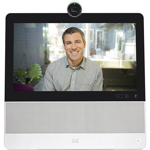 Cisco DX70 All-in-One Video Display/IP Phone (White)