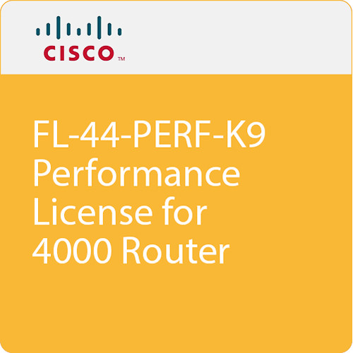 Cisco 4400 Series Performance on Demand License