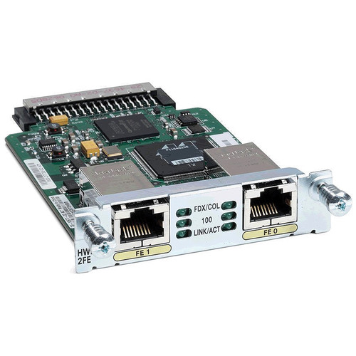 Cisco 2-Port Fast Ethernet High-Speed WIC for Cisco Integrated Services Routers
