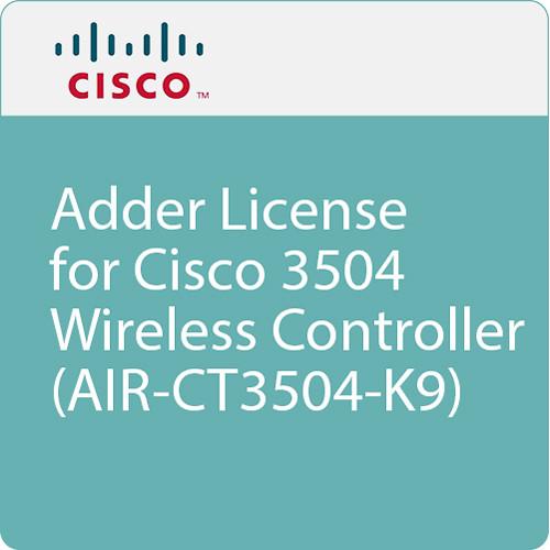 Cisco Adder License for Cisco 3504 Wireless Controller (AIR-CT3504-K9)