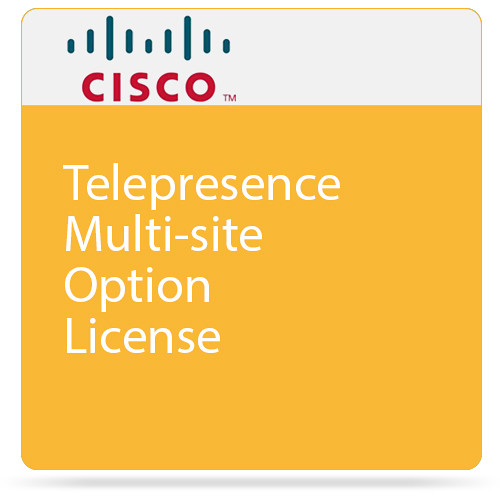 Cisco TelePresence SX20 MultiSite Option (Download)