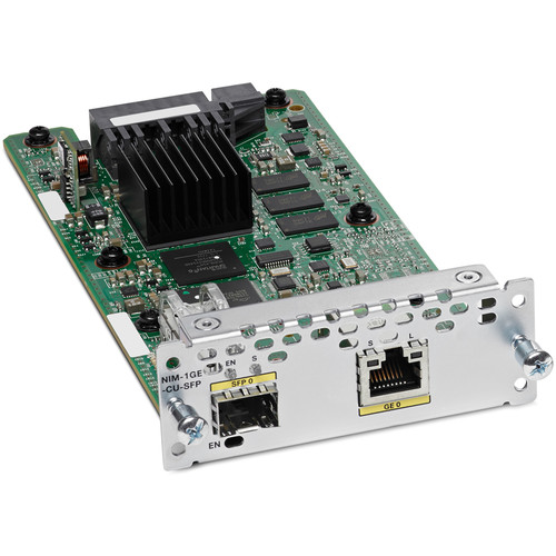 Cisco 1-Port Gigabit Ethernet Dual-Mode GE/SFP Network Interface Module
