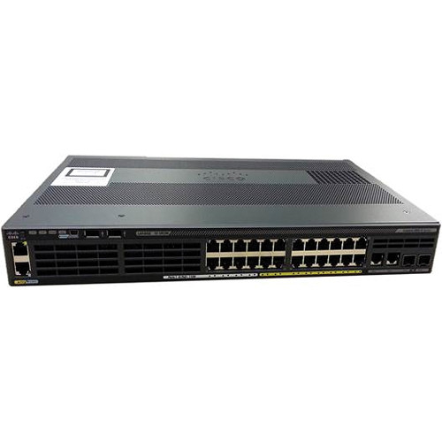 Cisco 2960X-24PS-L 24 Port Catalyst Ethernet Switch with 4 SFP Ports