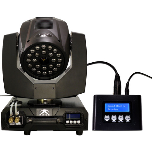 CITC Maniac II RGBA LED Moving Head Fog Machine with Multi-Function Controller