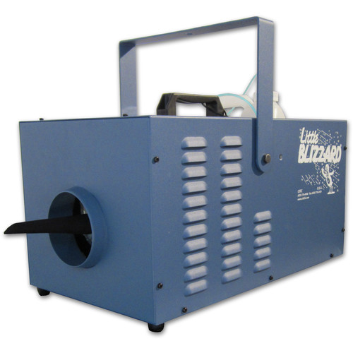 CITC Little Blizzard XT/SP Machine with DMX Control (230 VAC, Deep Blue Powder Coating)