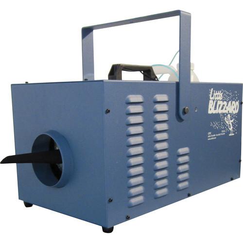 CITC Little BlizzardXT Machine with DMX Control (120 VAC, Deep Blue Powder Coating)