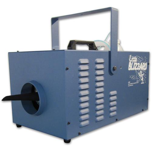 CITC Little Blizzard XT Machine with DMX Control (230 VAC, Deep Blue Powder Coating)