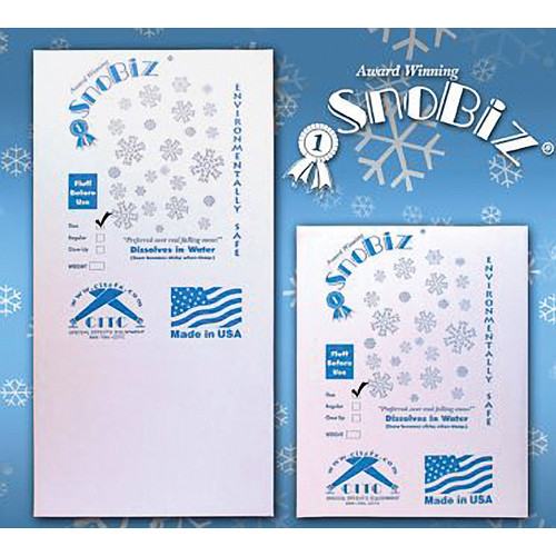 CITC SnoBiz Fine Biodegradable Artificial Snowflakes (10 ft<sup>3</sup>)
