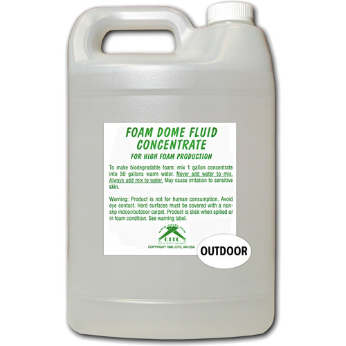CITC Outdoor Foam Dome Fluid Concentrate (1 Gallon)