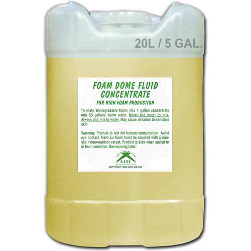 CITC Foam Dome Fluid Concentrate (5 Gallon)