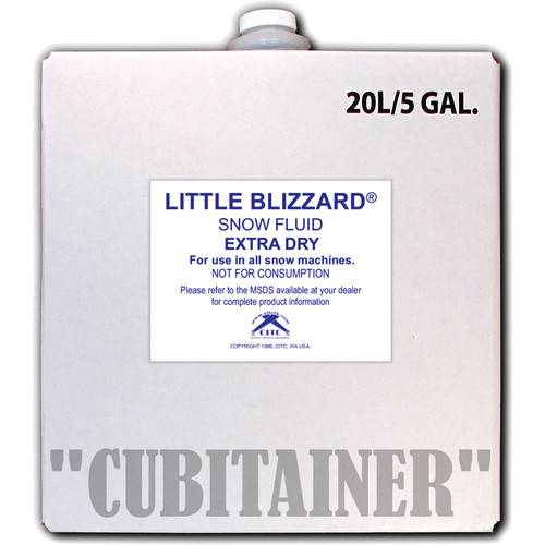 CITC Little Blizzard Snow Fluid Extra Dry (5 Gallons)